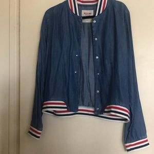 Mossimo Denim Bomber Jacket